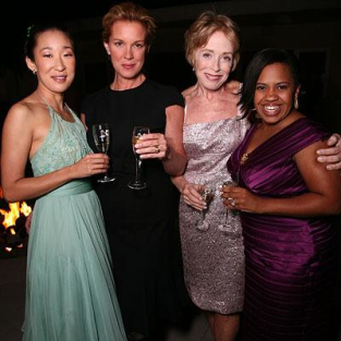 Sandra Oh Hosts Pre-Emmy Celebration