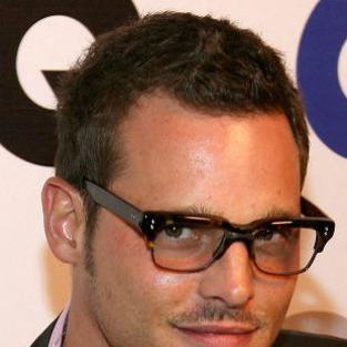 Justin Chambers at GQ Men of the Year Awards