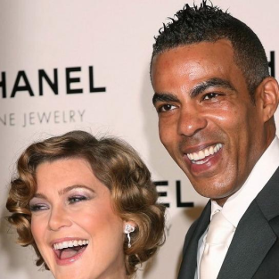 Ellen Pompeo, Chris Ivery at Chanel Event
