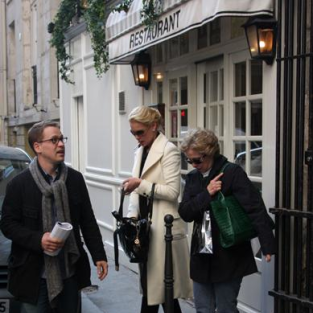 Katherine Heigl, T.R. Knight in Paris