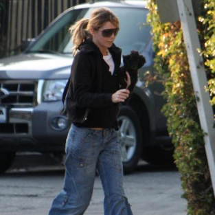 Ellen Pompeo Out For a Stroll