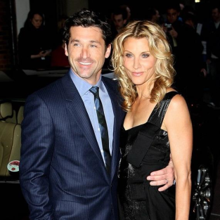 Patrick and Jillian Dempsey at Made of Honor Premiere