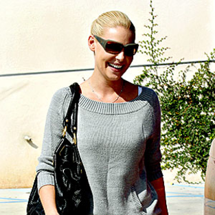 Katherine Heigl Out and About