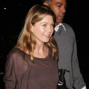 Ellen Pompeo, Chris Ivery Enjoy Dinner Out