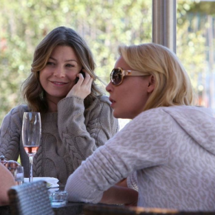 Ellen Pompeo and Katherine Heigl Do Lunch