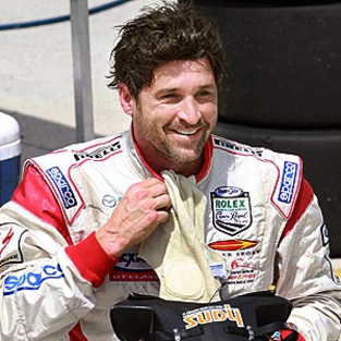 Patrick Dempsey Works Up a Sweat