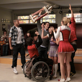 This Spring on Glee: Artie vs. Tina, Baby Twins and the Redemption of Terri
