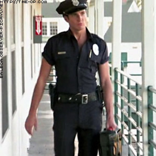 Gob as stripper cop