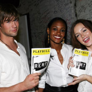 Chace Crawford and Leighton Meester Visit Rent