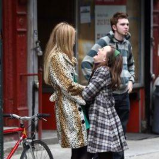 Gossip Girl Cast: On Set Pictures