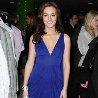 Leighton Meester in Versace
