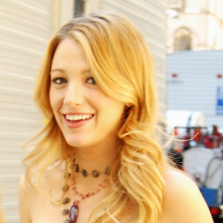 Blake Lively Goes with the Flow