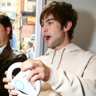 Chace Crawford Goes For a Drive