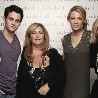 Blake Lively Meets Penn Badgley's Mom