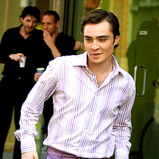 Ed Westwick Makes His Move