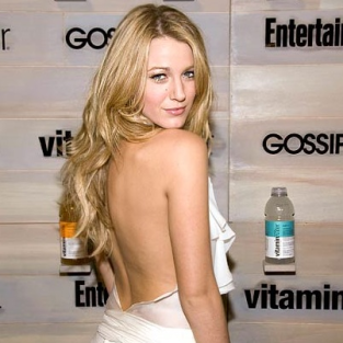 Blake Lively Supports Refreshing Beverages