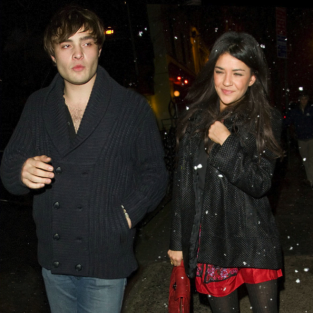 Another Ed Westwick and Jessica Szohr Sighting!