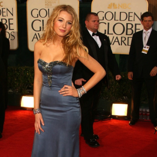 Blake Lively: Golden Globe Gorgeous