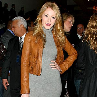 Blake Lively Looks Lovely at Ralph Lauren Fashion Show