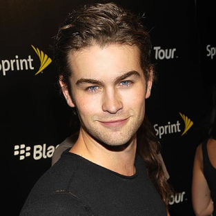 Cute Chace Crawford Smiles For the Cameras