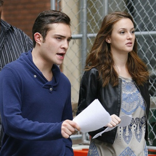 Ed Westwick, Leighton Meester Film Upcoming Scenes