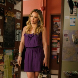 Hilary Duff on Gossip Girl: The First Promotional Picture