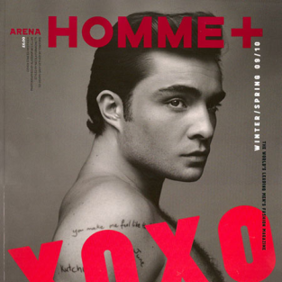 Ed Westwick Covers Arena Homme Plus