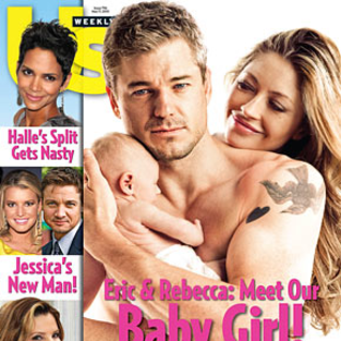 Eric Dane, Rebecca Gayheart Debut Daughter!