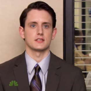 The Office Promotes Zach Woods (Sabre Lackey Gabe)