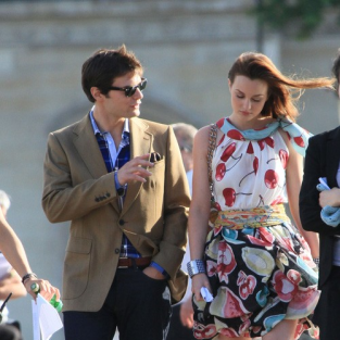 Gossip Girl Cast: On Location in Paris!