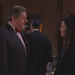 Lorelais graduation day picture