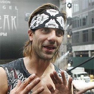 Criss Angel Escapes from Cement Box