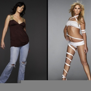 America's Next Top Model Transformations: Whitney and Katarzyna