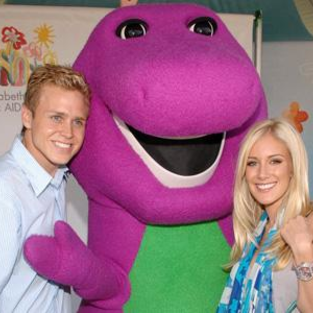 Heidi Montag, Spencer Pratt & Barney the Purple Dinosaur: Together at Last (Blog and Photo Caption Unnecessary)