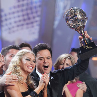 Donny Osmond Named Dancing with the Stars Winner