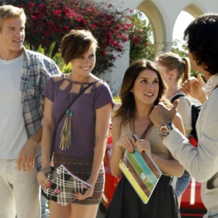 "90210 Round Table: ""Senior Year, Baby"""