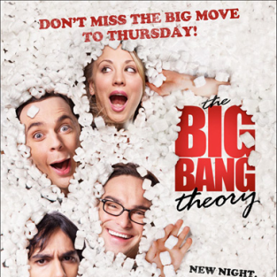 The Big Bang Theory Season Premiere Pics, Poster: New Night. Same Theory.