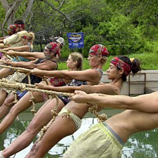 Rope over water immunity challenge