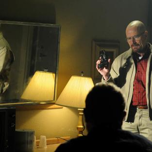 Walt with a gun