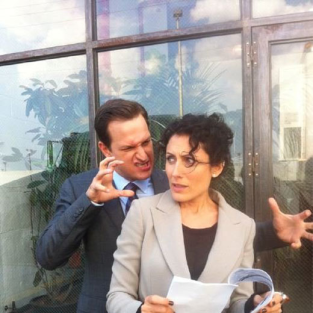 Josh Charles and Lisa Edelstein