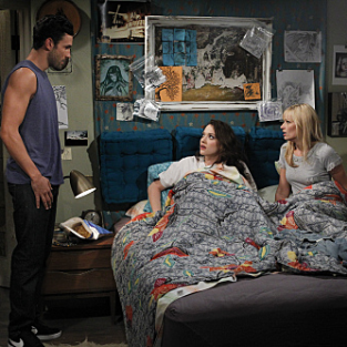 "2 Broke Girls Review: ""And The Break-Up Scene"""