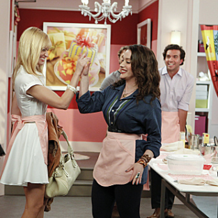 2 Broke Girls Review: Vagina Bed Alert!