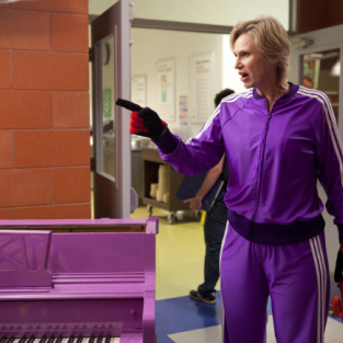 Glee Spoilers: The Musical Past of Sue Sylvester