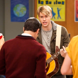 Chord Overstreet Previews Return to Glee