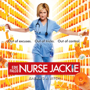 Nurse Jackie Season 4 Poster: Out of Control