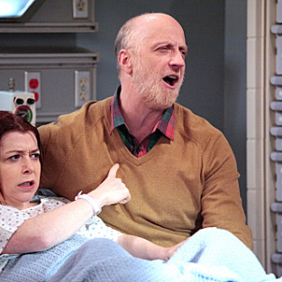 How I Met Your Mother Season Finale Pics: Lily in Labor!