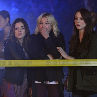 Pretty Little Liars Spoiler Pics: Scenes from a Crime Scene
