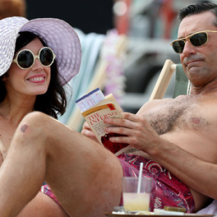 Mad Men Season 6 Premiere Pic: Aloha!