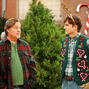 Two and a Half Men Review: Christmas Lies
