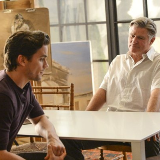 White Collar Midseason Premiere Pics: Dealing with Dad